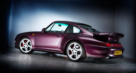 purple porsche 911 turbo porsche 911 turbo 993 purple thrills classic driver