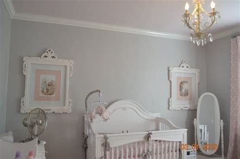 sherwin williams passive grey nursery room