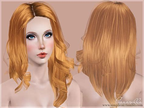 download wavy hair for sims 3 cazarella s rich curls
