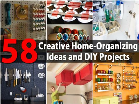 organizing ideas top 58 most creative home organizing ideas and diy