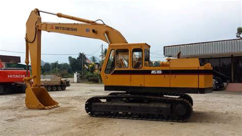 mitsubishi equipment soon seng heavy equipment plt mitsubishi ms180 8