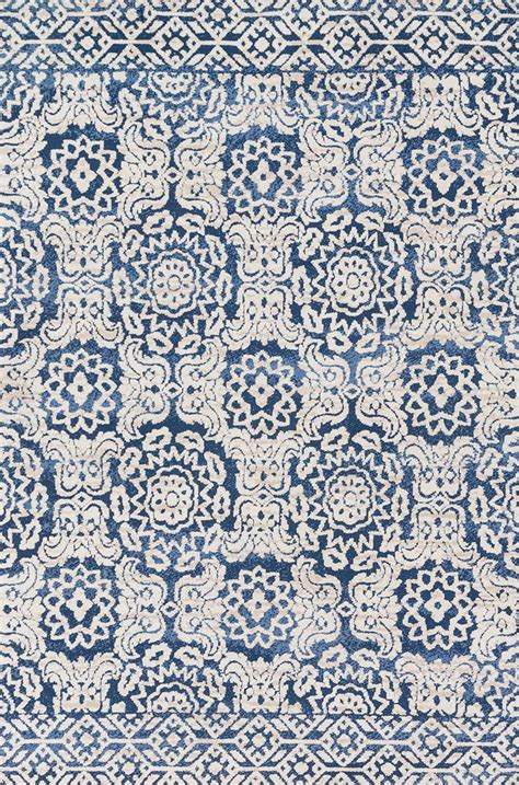 magnolia area rugs lotus lb 06 blue ant ivory area rug magnolia home by joanna gaines carpetmart