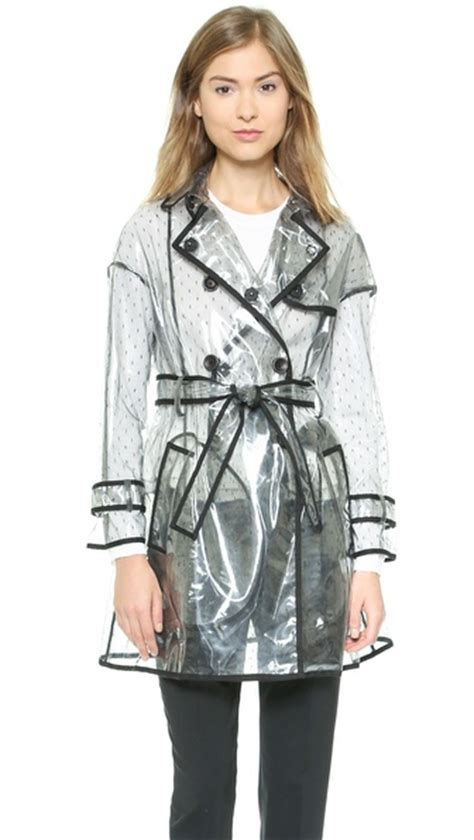 Sale Dresses 100 At Shopbop Part 3 by Valentino Clear Trench Coat Shopbop