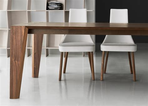 Modern Dining Table Plus Walnut Dining Table Contemporary Wooden Dining Tables