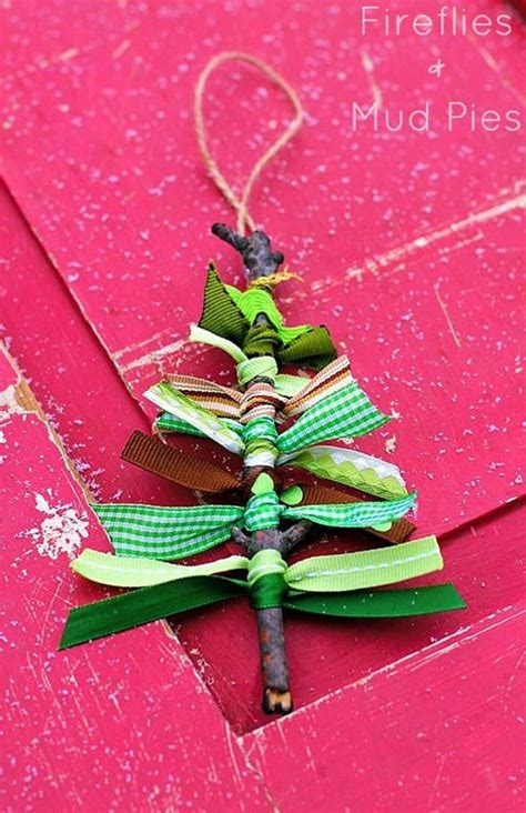 tree handmade ornaments 38 easy handmade ornaments