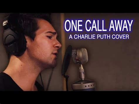 Charlie Puth Quot One Call Away Quot James Maslow Cover Chords | charlie puth quot one call away quot james maslow cover youtube