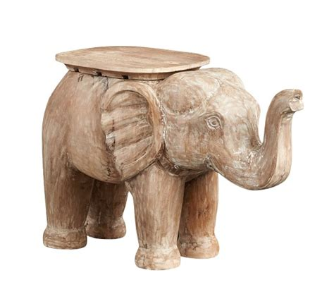 Elephant Side Table Elephant Side Table Pottery Barn