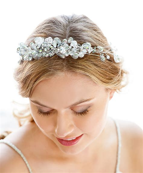 Wedding Accessories Nyc by Silver Bridal Headband Hair Accessories Nyc