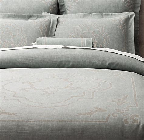 restoration hardware comforter italian baroque medallion bedding from restoration hardware