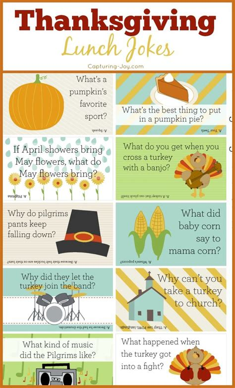printable thanksgiving jokes and riddles best 25 thanksgiving jokes for kids ideas on pinterest