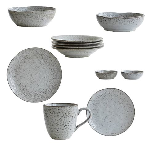 house of bowls set of 2 bowls rustic tableware by house doctor at north sea design online or in