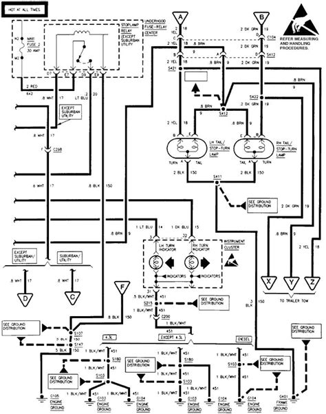 4 wire trailer wiring diagram troubleshooting dejual