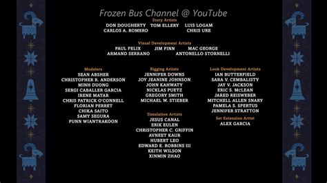 coco end credit 1080p olaf s frozen adventure end credits youtube