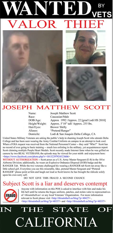 biography of film wanted scott joseph iv biography