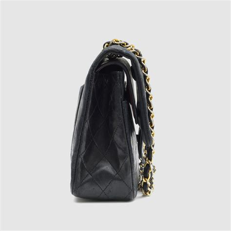 2 Die 4 Chanel Classic Flap Bag by Chanel Classic Flap Bag Black Quilted Lambskin