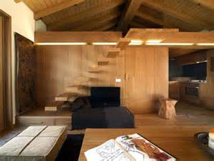 Warm and modern wood interior fancy deco com