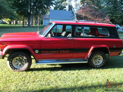 Jeep Chief 1979 1979 Jeep Chief 4x4 360 V8 Automatic 40500