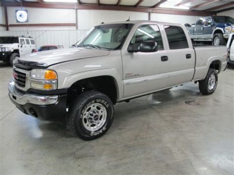 how to work on cars 2005 gmc sierra 3500 engine control sell used 2005 gmc sierra 2500hd 4x4 duramax diesel needs work repo mechanic special in