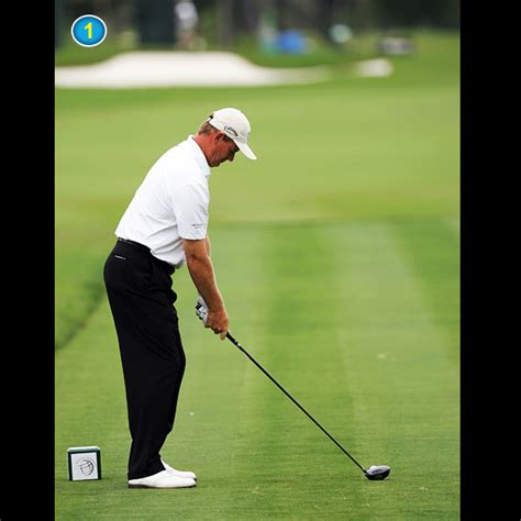 ernie els swing ernie els swing sequence golf com