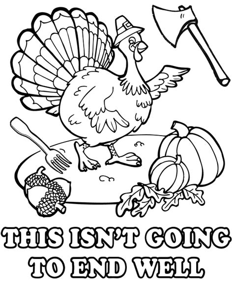 funny thanksgiving turkey clipart 47