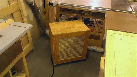 woodworking air filtration roll around woodshop air filtration system woodbin