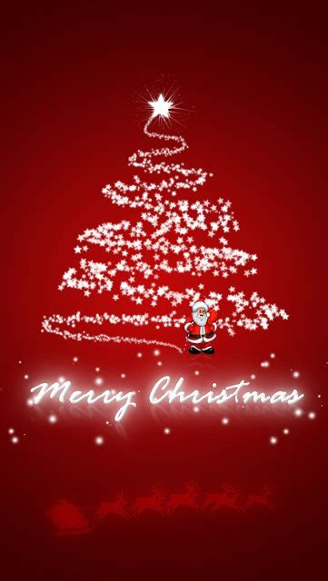 merry christmas mobile wallpaper gallery