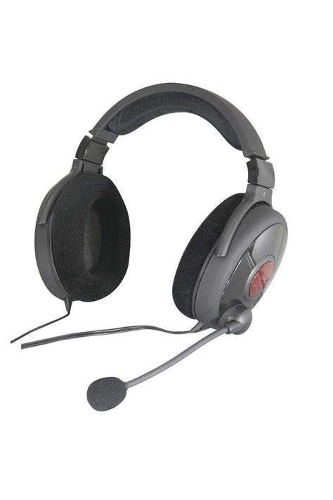 Headset Creative Fatal1ty Gaming creative fatal1ty pro series gaming headset misc peripherals atomic pc tech authority