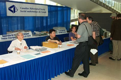 Conference by Registration Table