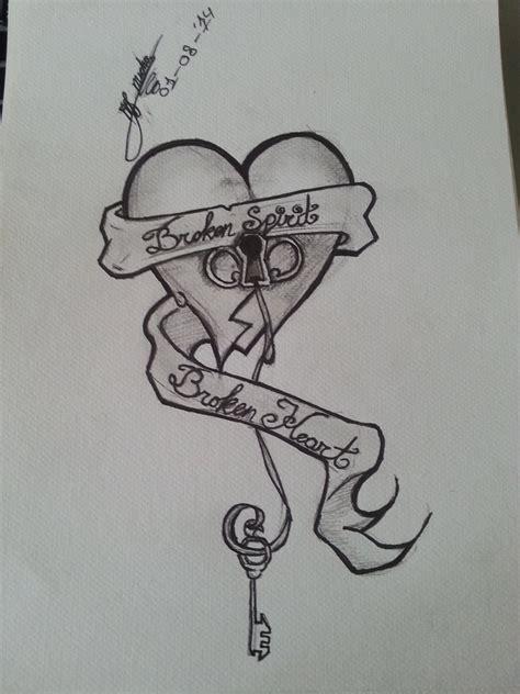 tattoos broken heart quotes heart broken tattoo quotes quotesgram