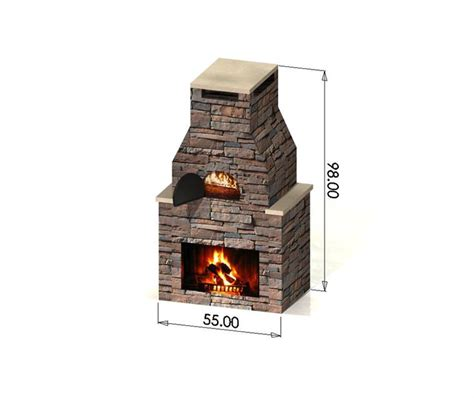 Fireplace Pizza Oven Combo by Fireplaces Patio Ideas