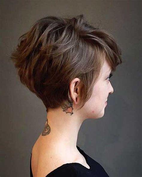 damen choise kurze braune haare madame friisuren