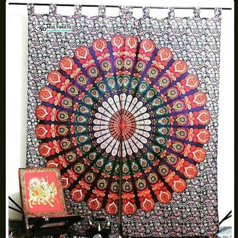 tapestry shower curtain home accessory window cover multimatecollection