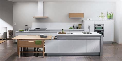 rev黎ement sol cuisine white rendez vous kitchen by thibault desombre
