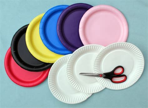 Paper Craft Hats - wonderful diy hat from paper plate
