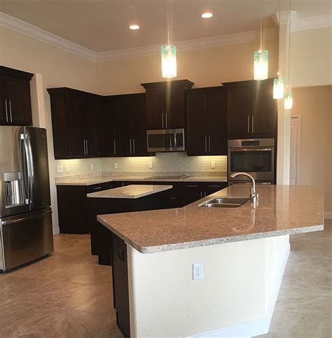 a customised centre island with custom kitchen with center island rjm custom homes
