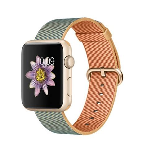 Apple Series 2 Alum Gold With Midnigth Blue 38m apple sport 42mm gold aluminum with gold royal