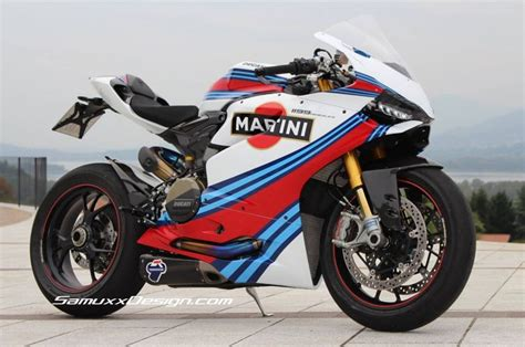martini racing ducati ducati panigle 1199 martini 171 samuxx design from concept