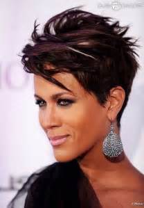 Chic short straight hairstyle short hairstyles for black women 2015
