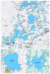 lake maps brainerd mn lakes map details cragun s resort