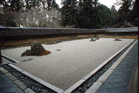 Zen Water Garden Japanese Rock Garden 枯山水 Karesansui