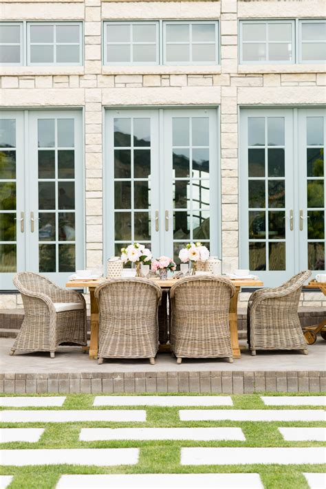 rachel parcell house my outdoor living space reveal pink peonies by rach parcell