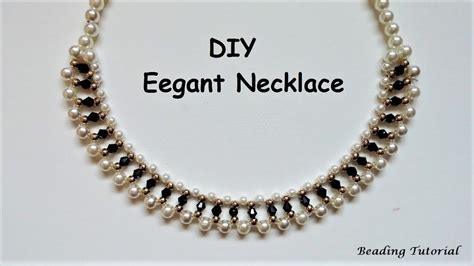 8 Necklaces To Give To Your by How To Make A Beaded Necklace Easy Beading Tutorial Last