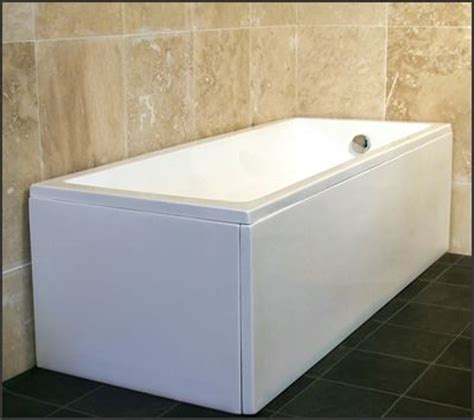 bathtub side panel dihl 1500mm 1600mm modern gloss white acrylic bath bathtub