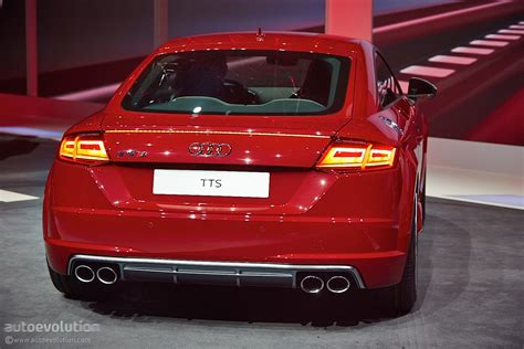 news in new audi tt and tts coupes get evolutionary styling and