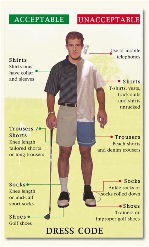 dress code for dress code the wychwood oxfordshire golf club