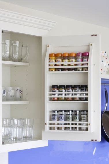 inside cabinet door spice rack cabinet door inside kitchens dining areas spice racks kitchen gallery and doors
