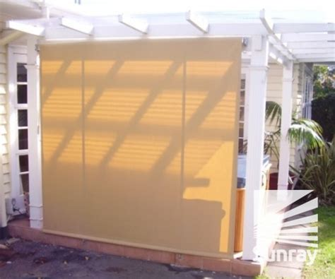 drop down awnings bannette drop arm awnings sunray awnings and blinds