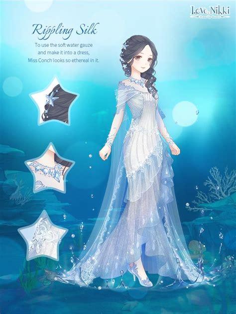 rippling silk love nikki dress  queen wiki fandom