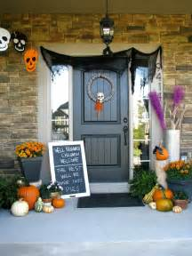 outdoor home decorating ideas cute halloween front porch decorations to greet your guests