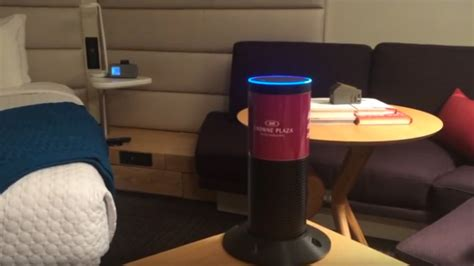 Room Bot by Messenger Bot Echo Quot Concierge Quot Helps Hotel Guests